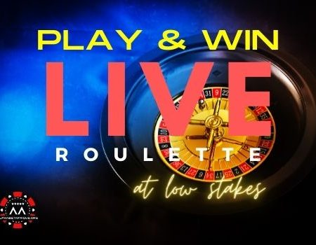 Play & Win Live Roulette at Low Stakes?